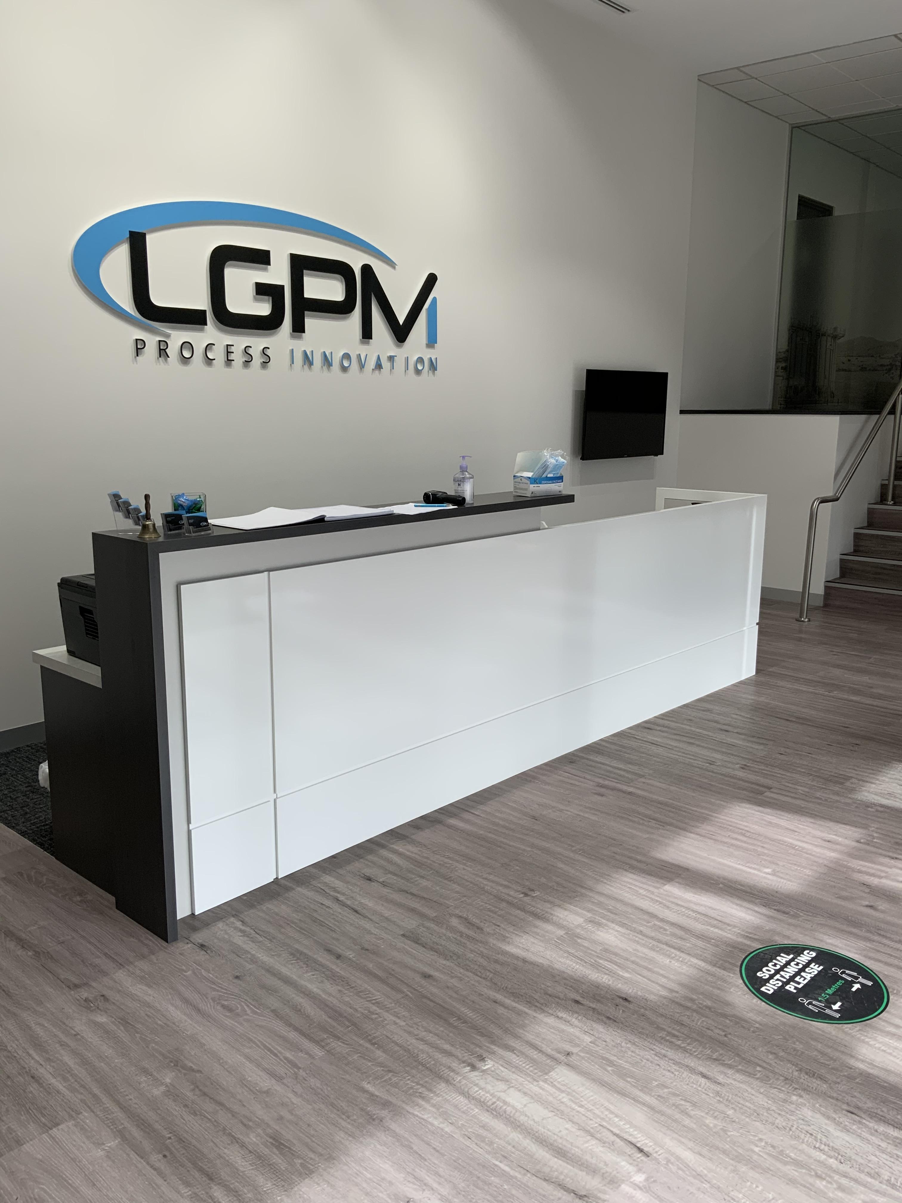 reception area LGPM Melbourne