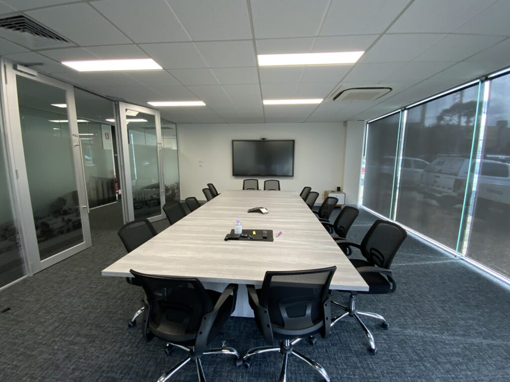 office meeting area