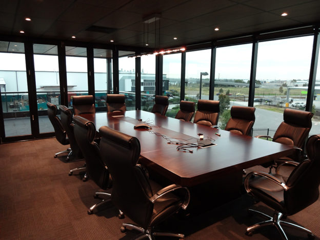 a executive meeting room