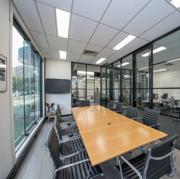 boardroom complete fitout