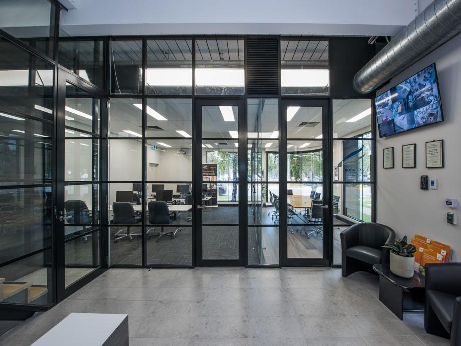 office partition contractors victoria