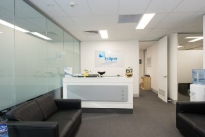 eclipse financial management office fitout