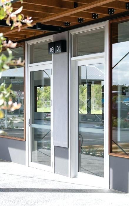 custom made aluminium doors