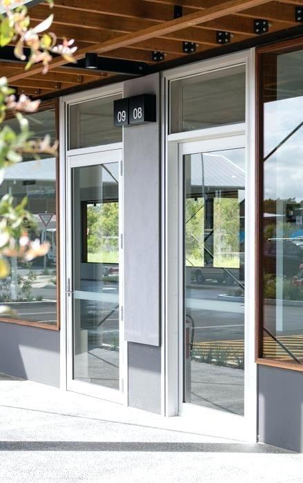 custom made aluminium doors